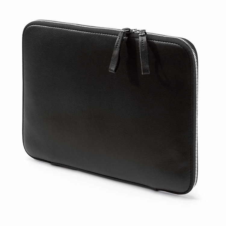 "Leather Notebook sleeve for MacBook® Air 13"" Black"
