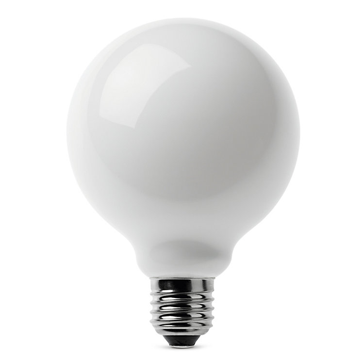 LED-Filament-Globelampe 95 mm E27 E27 7 W Opal