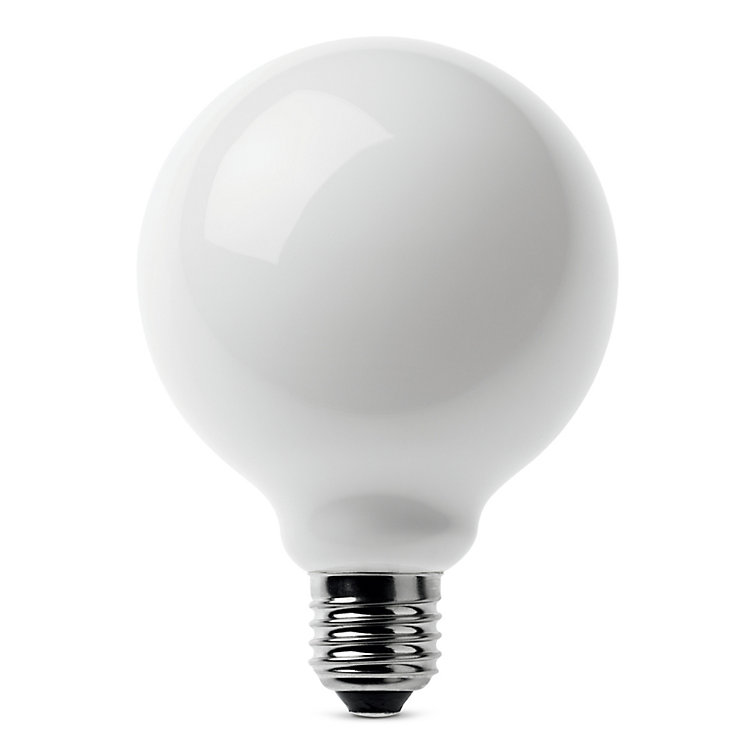 LED-Filament-Globelampe 95 mm E27 E27 7W Opal