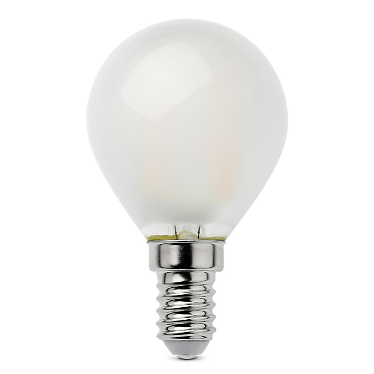 LED-Filament-Kugellampe E14 E14, 2,5 W Matt