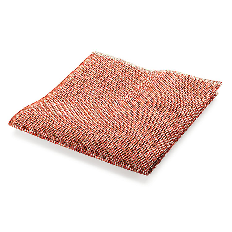 Linen Dishcloth Orange