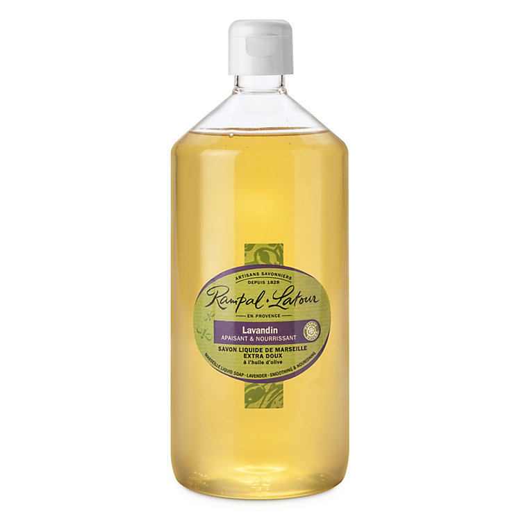 Liquid Marseilles Lavender Soap 1-l. plastic bottle
