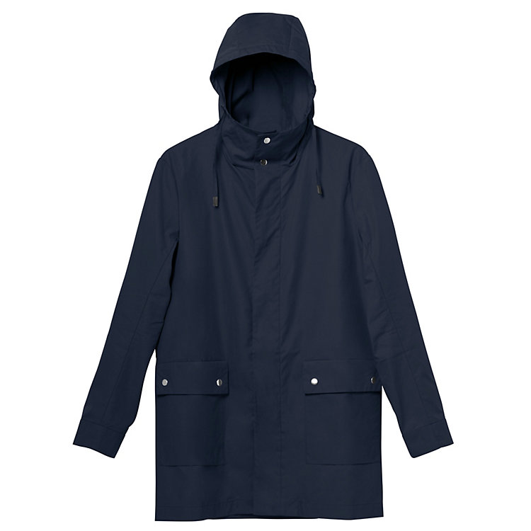 Mantel All Weather Coat Blau
