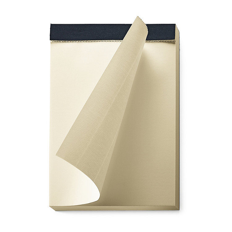 Manufactum A5 Tear-Off Pad With Linen Binding