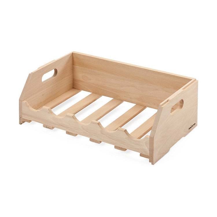 Manufactum Beechwood Bottle Rack