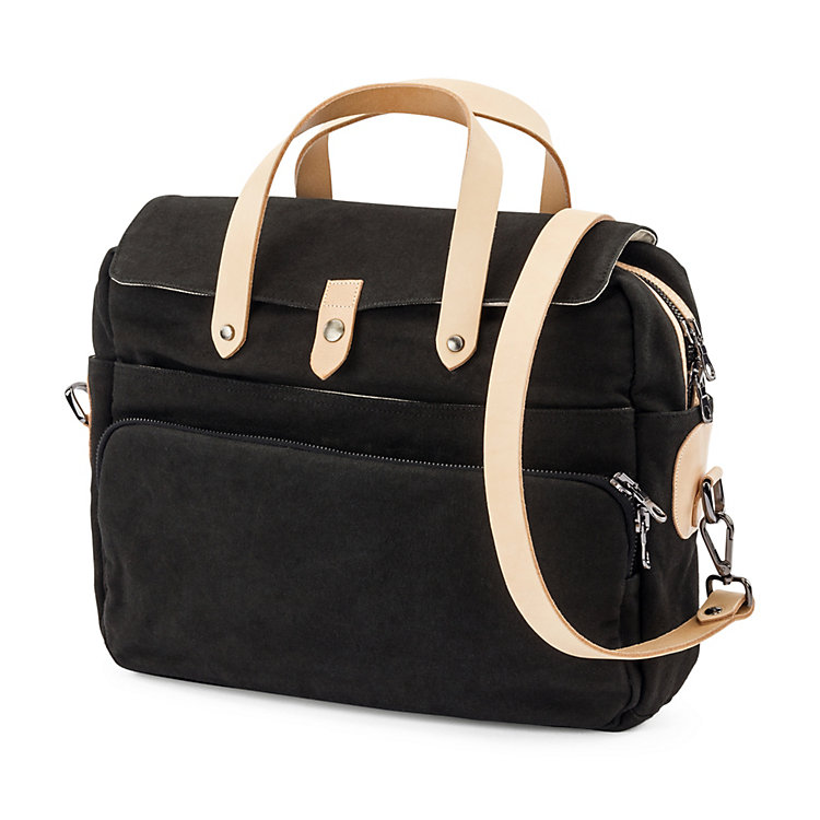 Manufactum Canvas-Laptop-Tasche