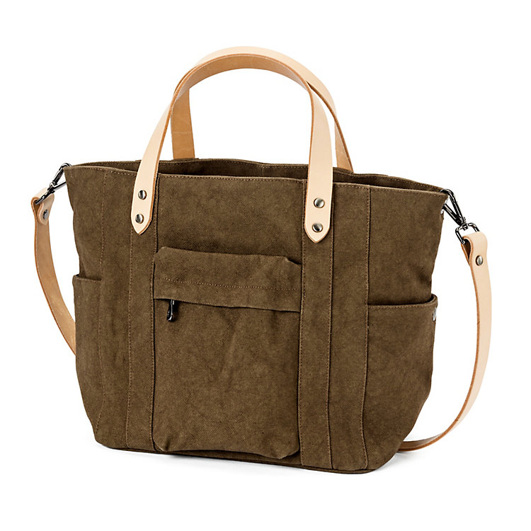 Manufactum Canvas-Shopper, Khaki