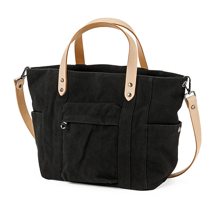 Manufactum Canvas-Shopper, Schwarz