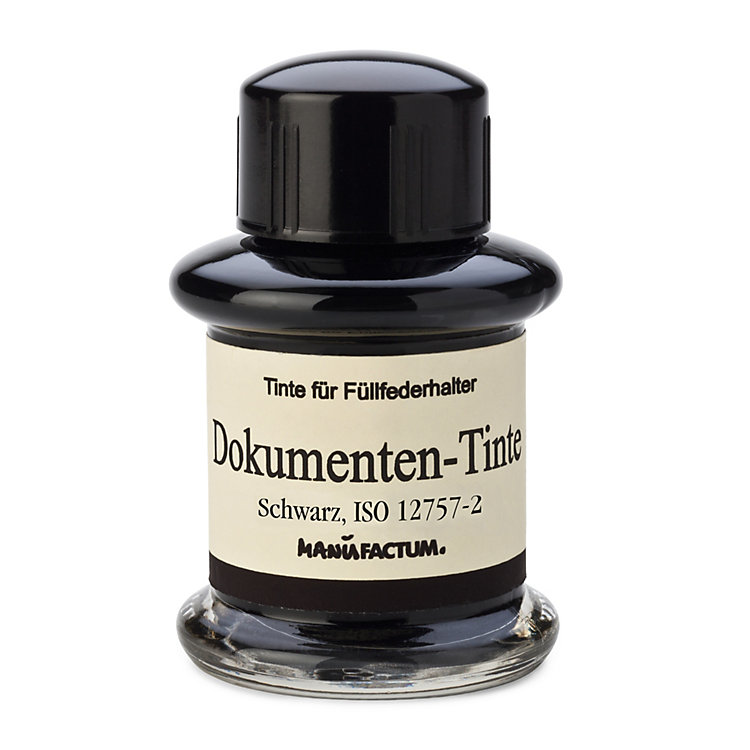 Manufactum Document Ink, Black
