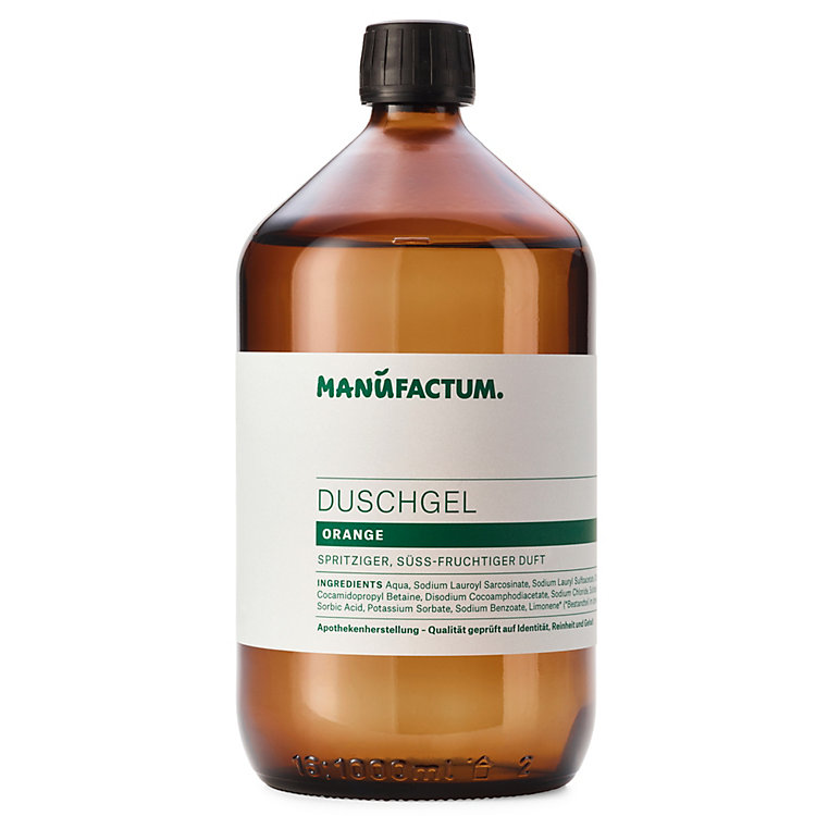 Manufactum Duschgel Orange