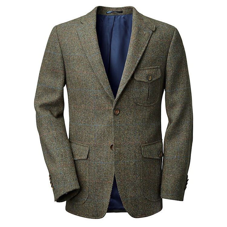 Manufactum Herrenjackett Harris-Tweed