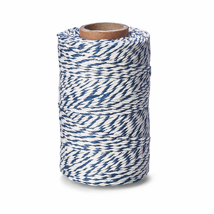 Manufactum Household Twine Blue/White