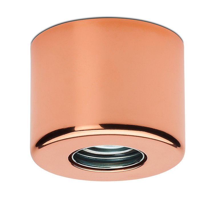 Manufactum lamp socket Copper-plated