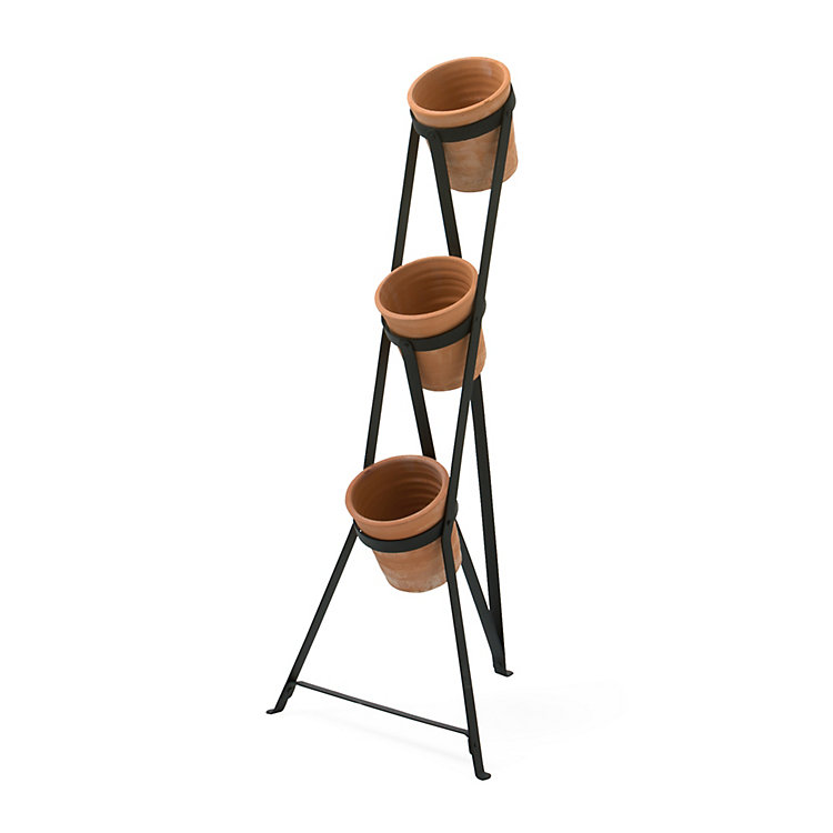 Manufactum Tiered Plant-Pot Stand Small
