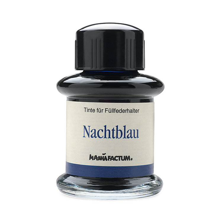 Manufactum Writing Ink, Nightblue