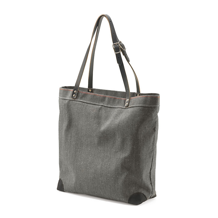 Market Bag Made of Canvas, Anthracite