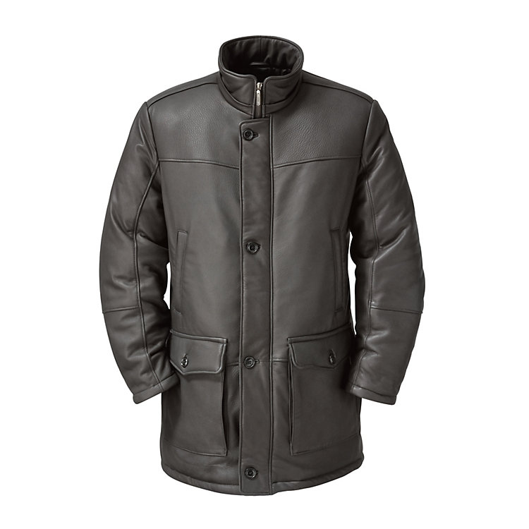 Men's Elk Hide Parka Anthracite