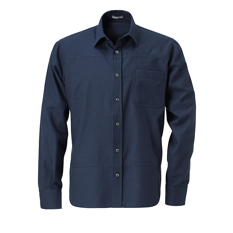 Men's Flannel Shirt Dark blue