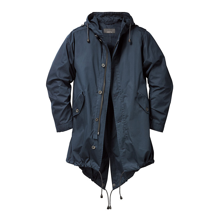 Men's Parka EtaProof® Dark Blue