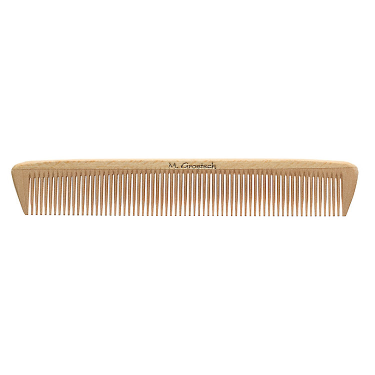 Men's wood comb