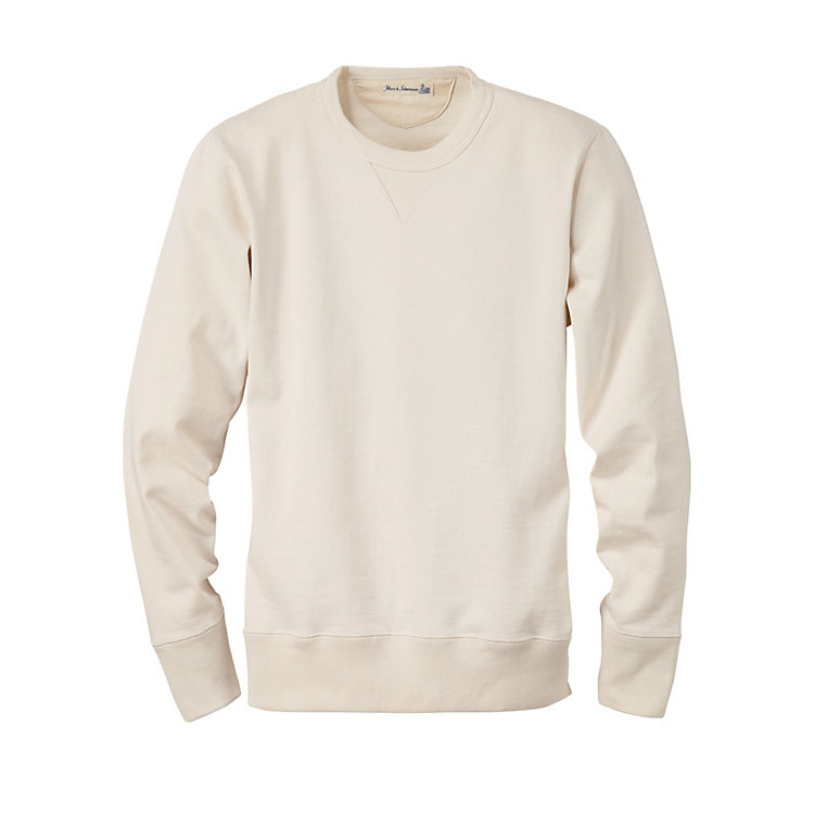 Merz b. Schwanen Men's Sweatshirt Natural colored