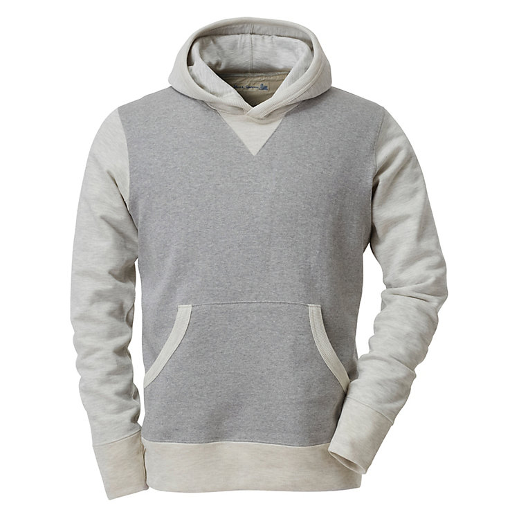 Merz beim Schwanen Men's Hoodie Grey-natural