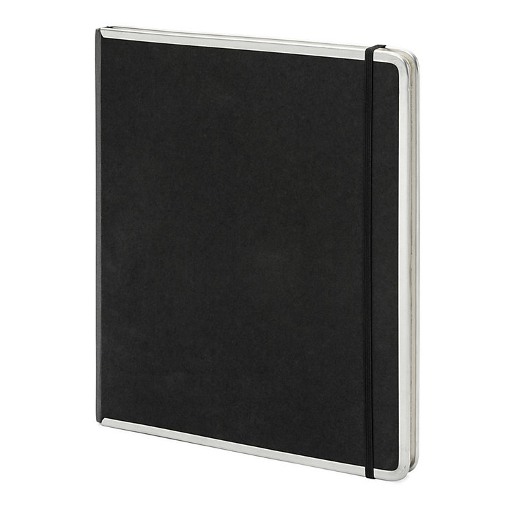 Metal edged office book blank