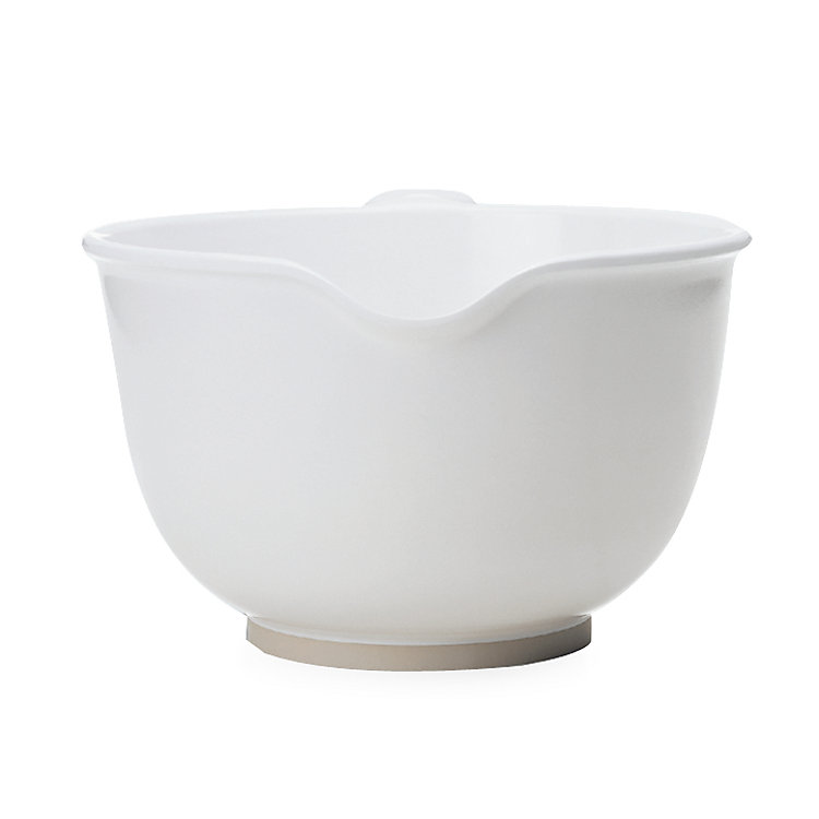Mixing Bowl Made of Melamine Resin Standard Bowl White