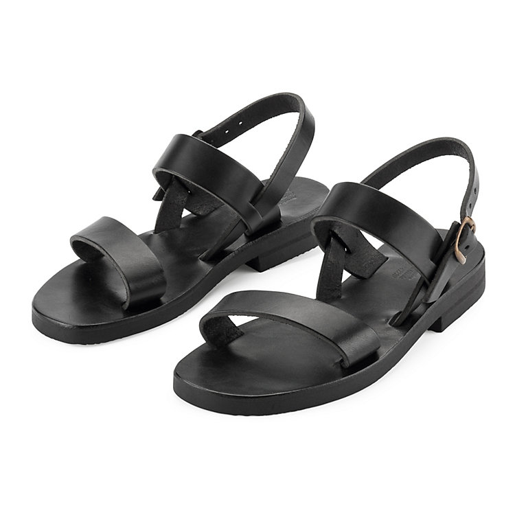 Monastery Sandals for Women, Black