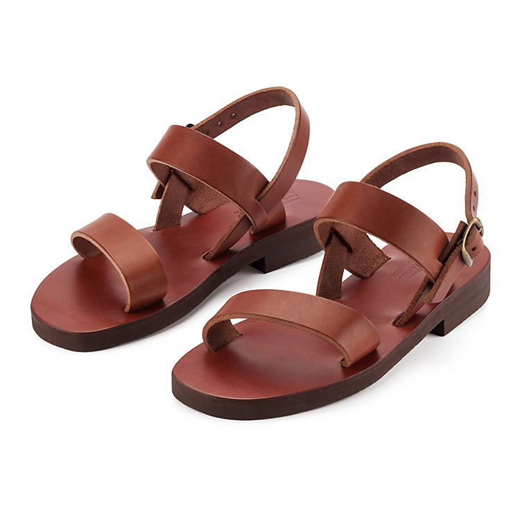 Monastery Sandals for Women, Brown
