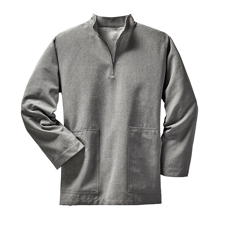 Monk's Work Smock, mottled grey