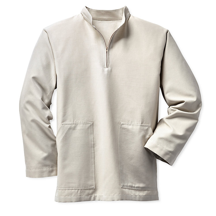 Monk's Work Smock, Natural white