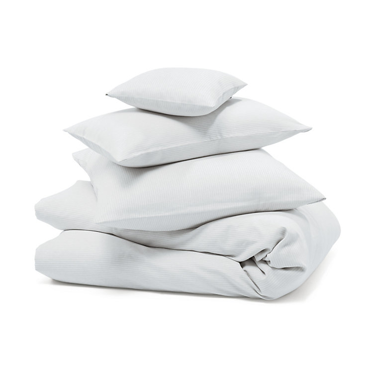 Mühlviertl Linen Bed Covers 155 x 220 cm White