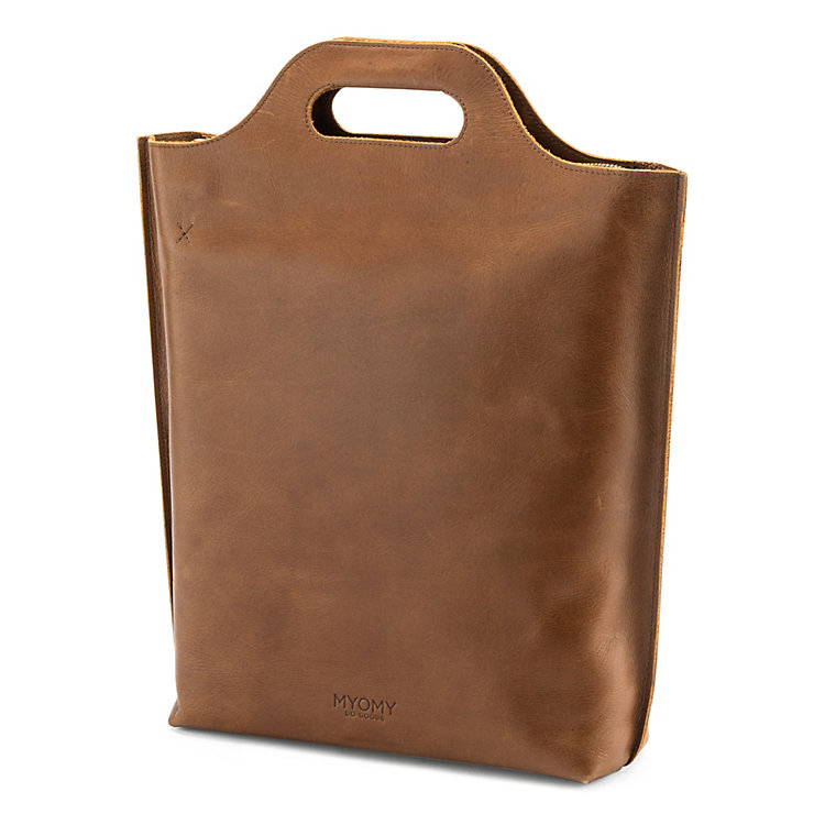 Myomy Shopper groß Braun