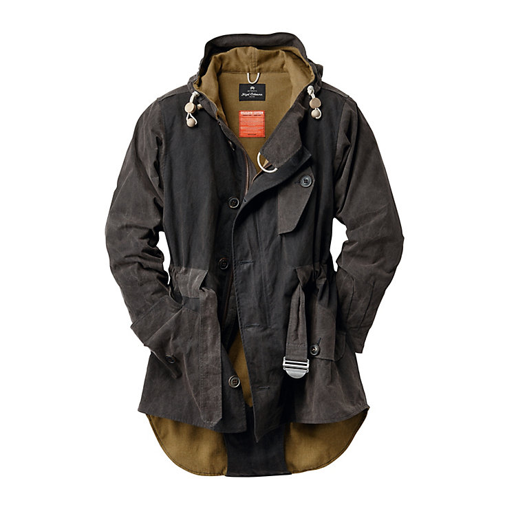 Nigel Cabourn Men's Cold Weather Parka Anthracite