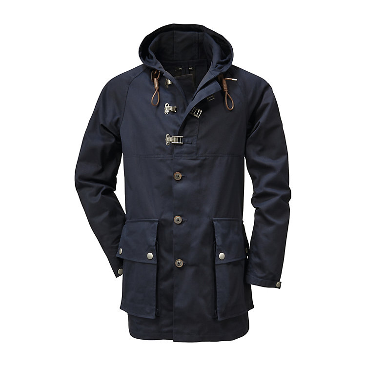 Nigel Cabourn Men's-Parka Dark blue