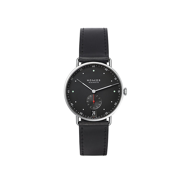 Nomos Metro 38 Date Night black