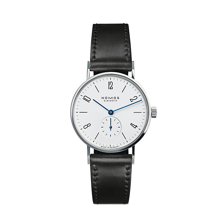 Nomos Tangente Gentlemen's Watch, Steel Back