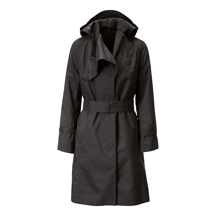 Norwegian Rain Woman's Raincoat, Black