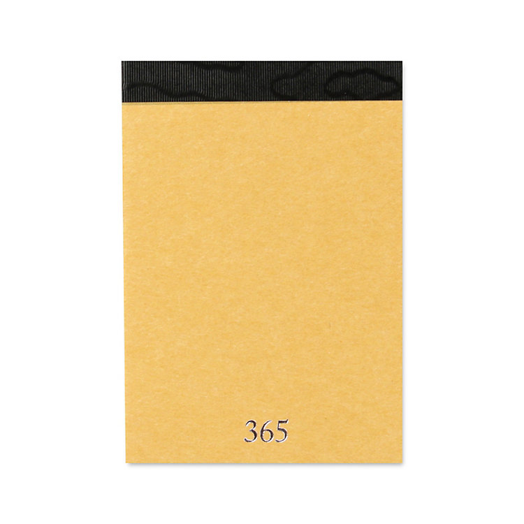 Notebook 365 DIN A7 Yellow