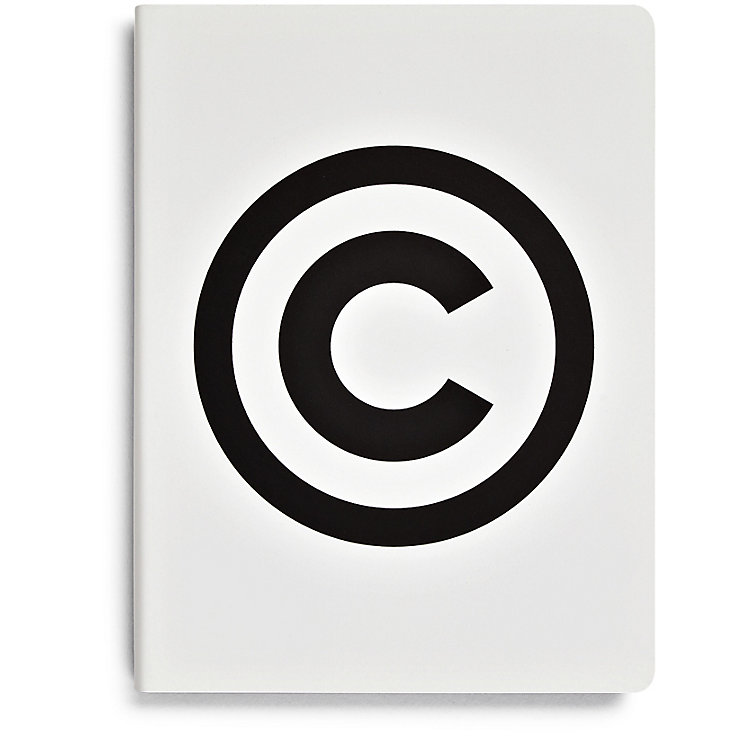Notizbuch Copyright