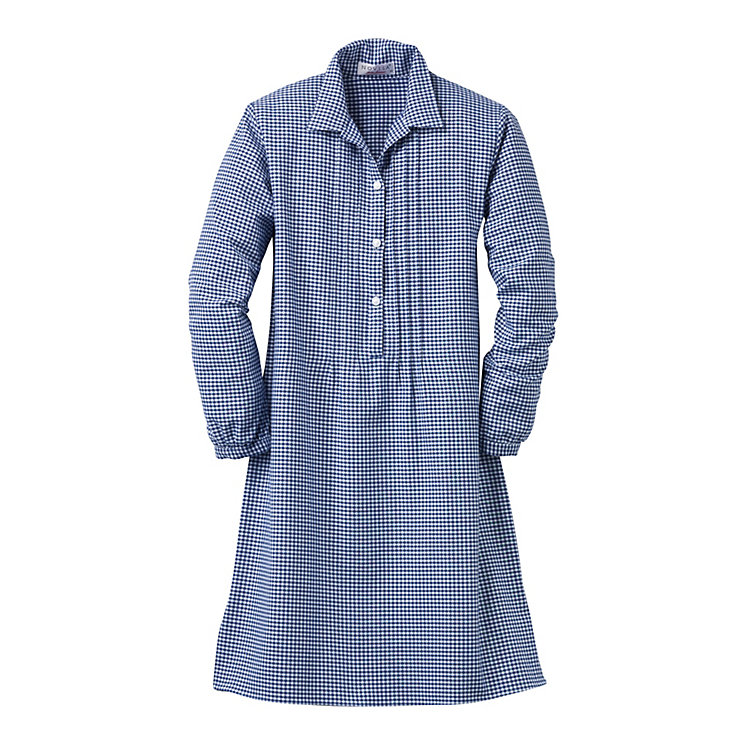 Novila Women's Flannel Nightgown, Blue