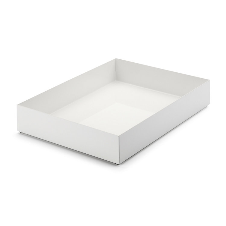 Paper Tray HOLDER Signal White RAL 9003