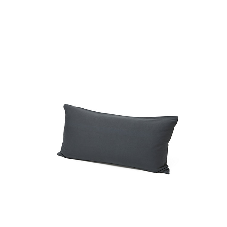 Pillow Case Made Of Double Jersey 40 x 80 cm Anthracite