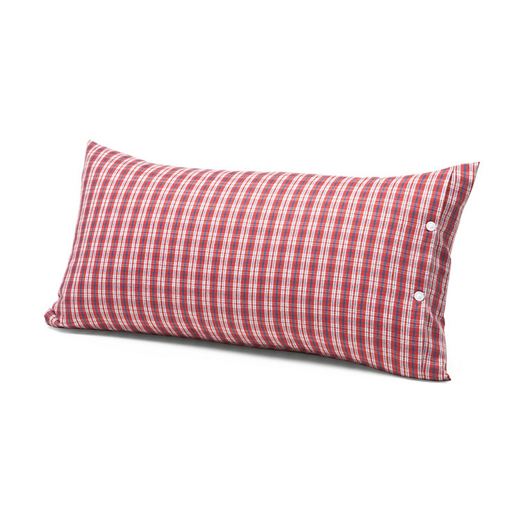 Pillow Case Made of Flannel in Hochficht Check Pattern