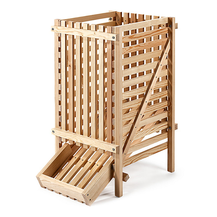 Pine Wood Potato Rack