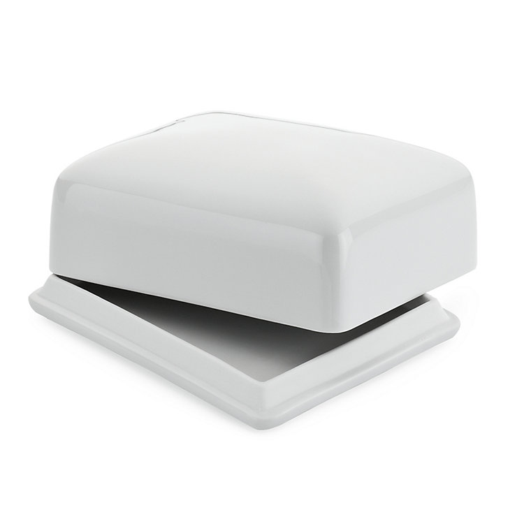 Porcelain Butter Dish For a 250 g stick