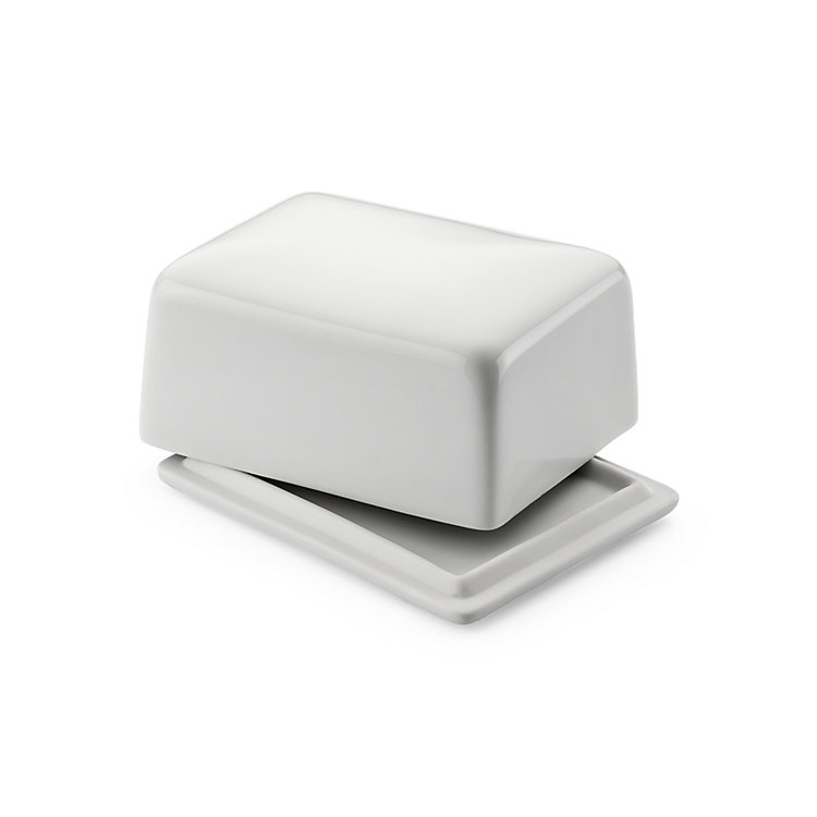 Porcelain Butter Dish For a 125 g stick