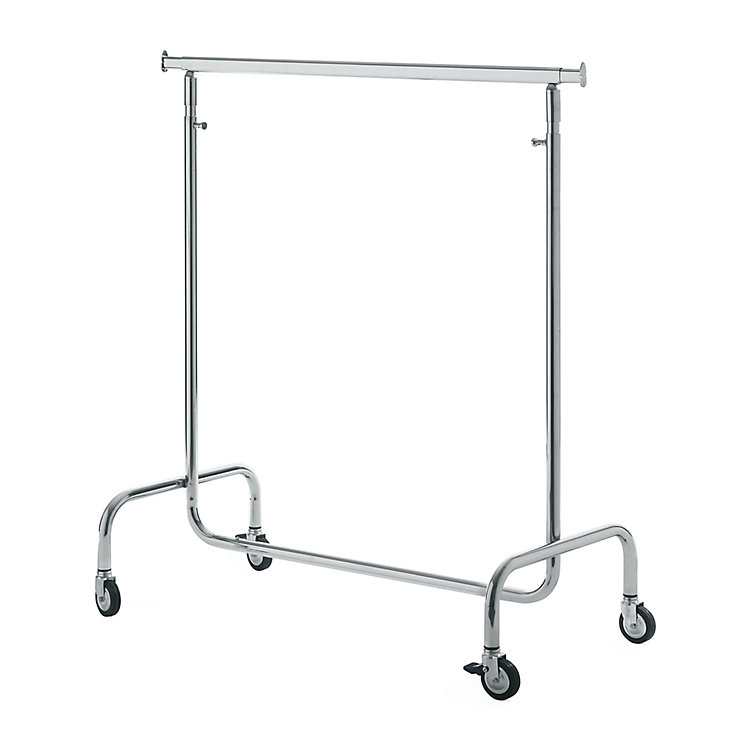Portant Steel Tube Clothes Rack