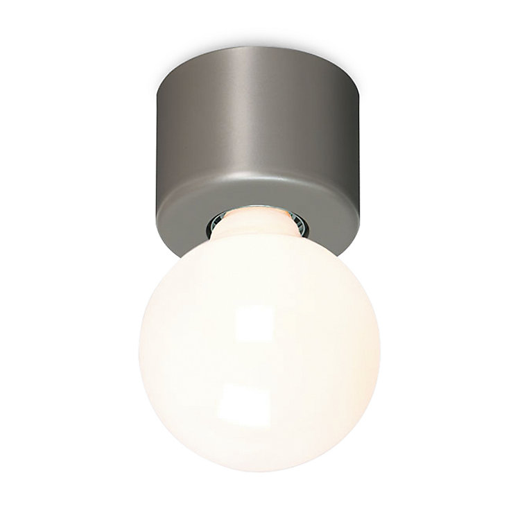 Pot-Shaped Wall and Ceiling Lamp Grey